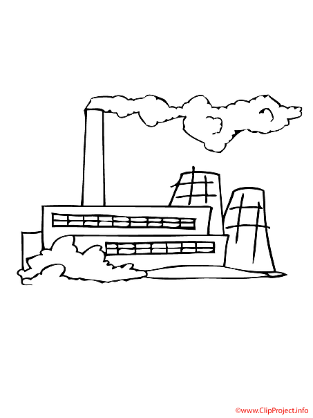 Free Coloring Pages Of Factory Factory Coloring Page