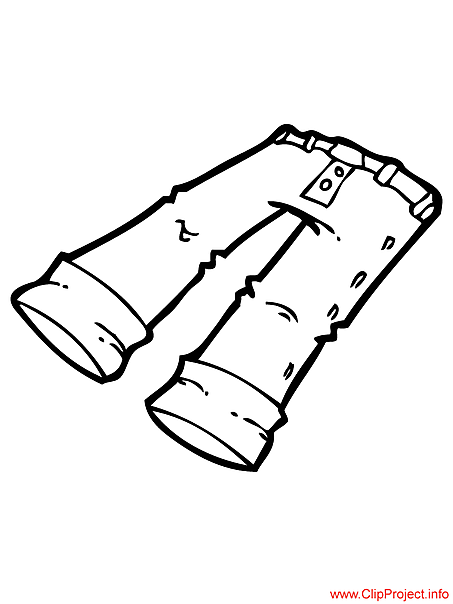pants coloring pages - pants image to coloring