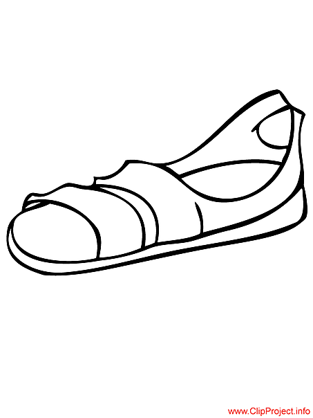 slipper coloring page sketch coloring page