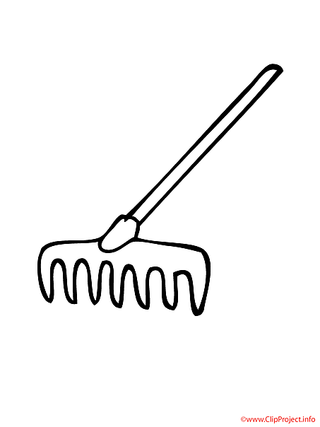 rakes coloring pages - photo#1