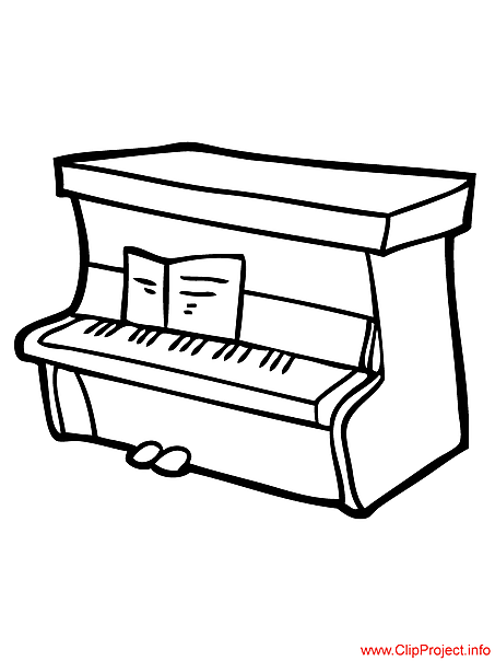 free piano keys coloring pages - photo#19