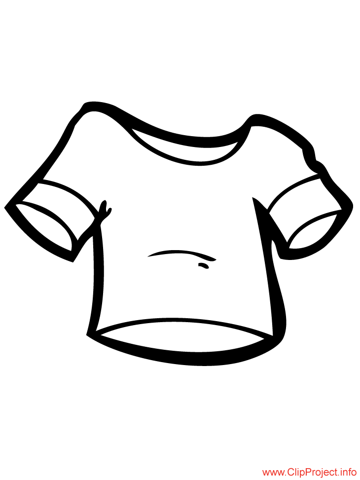 shirt coloring pages - photo#24