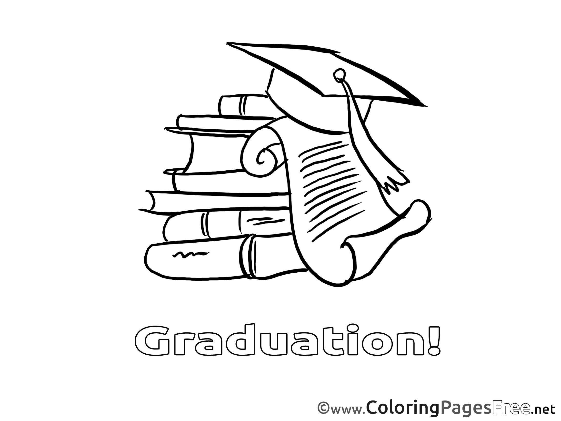Coloring pages graduation - Coloring Pages Graduation 41