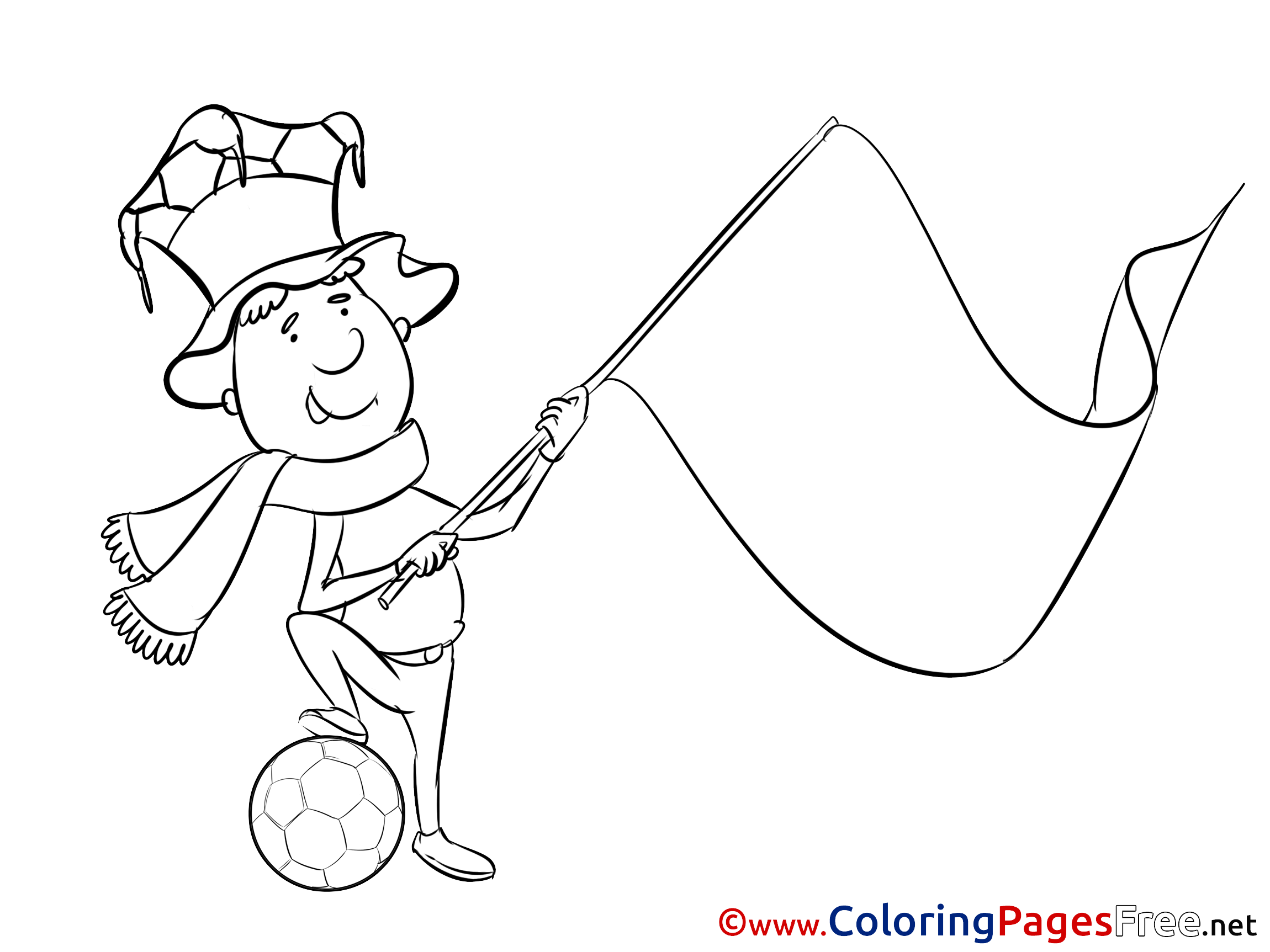 soccer flags coloring pages - photo#8