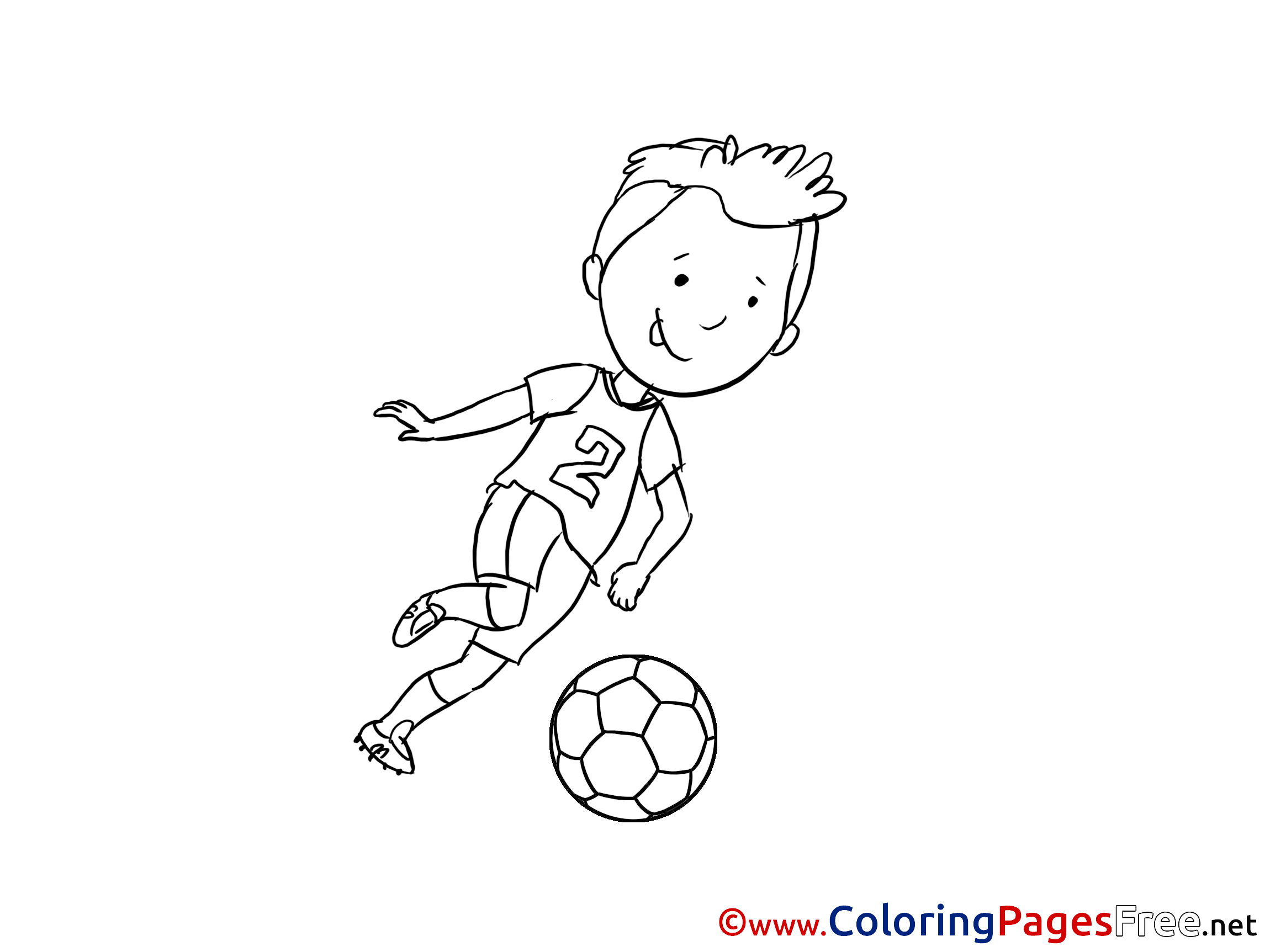 soccer coloring pages for preschoolers - photo#16