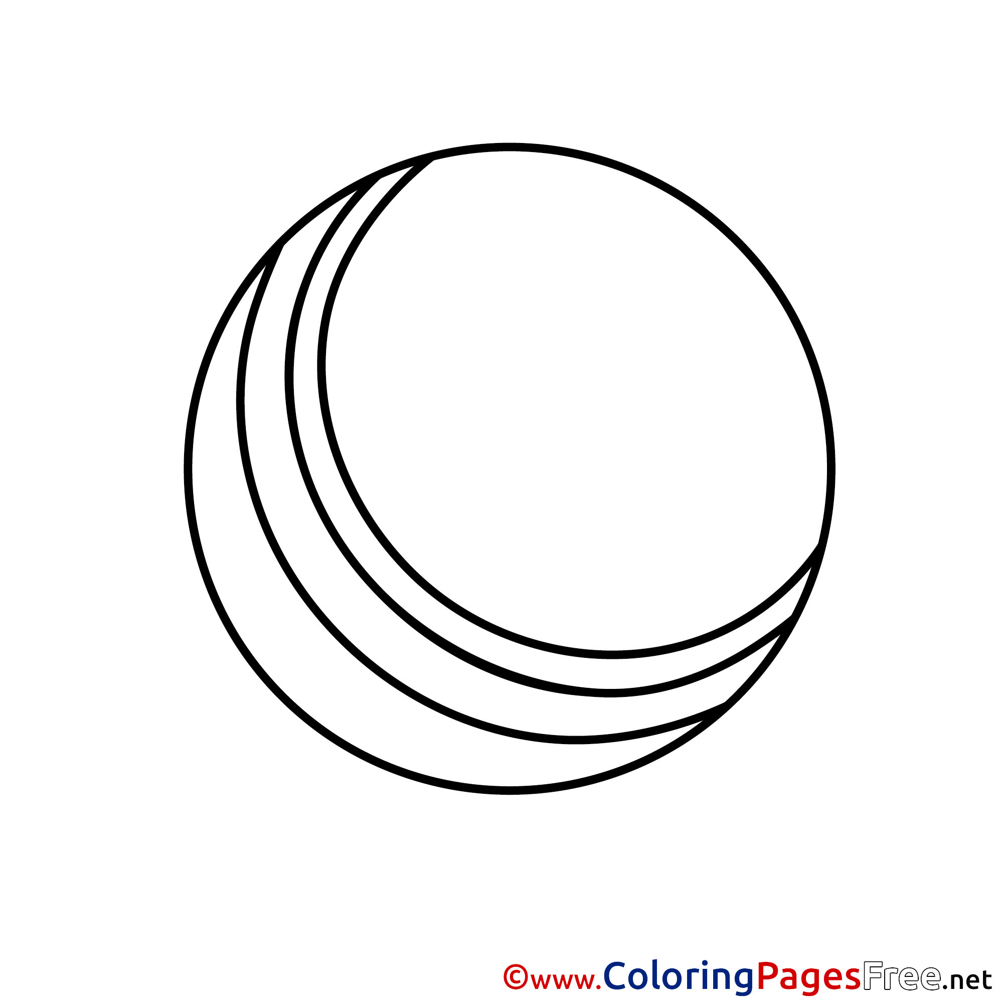 free ball coloring pages - photo #39