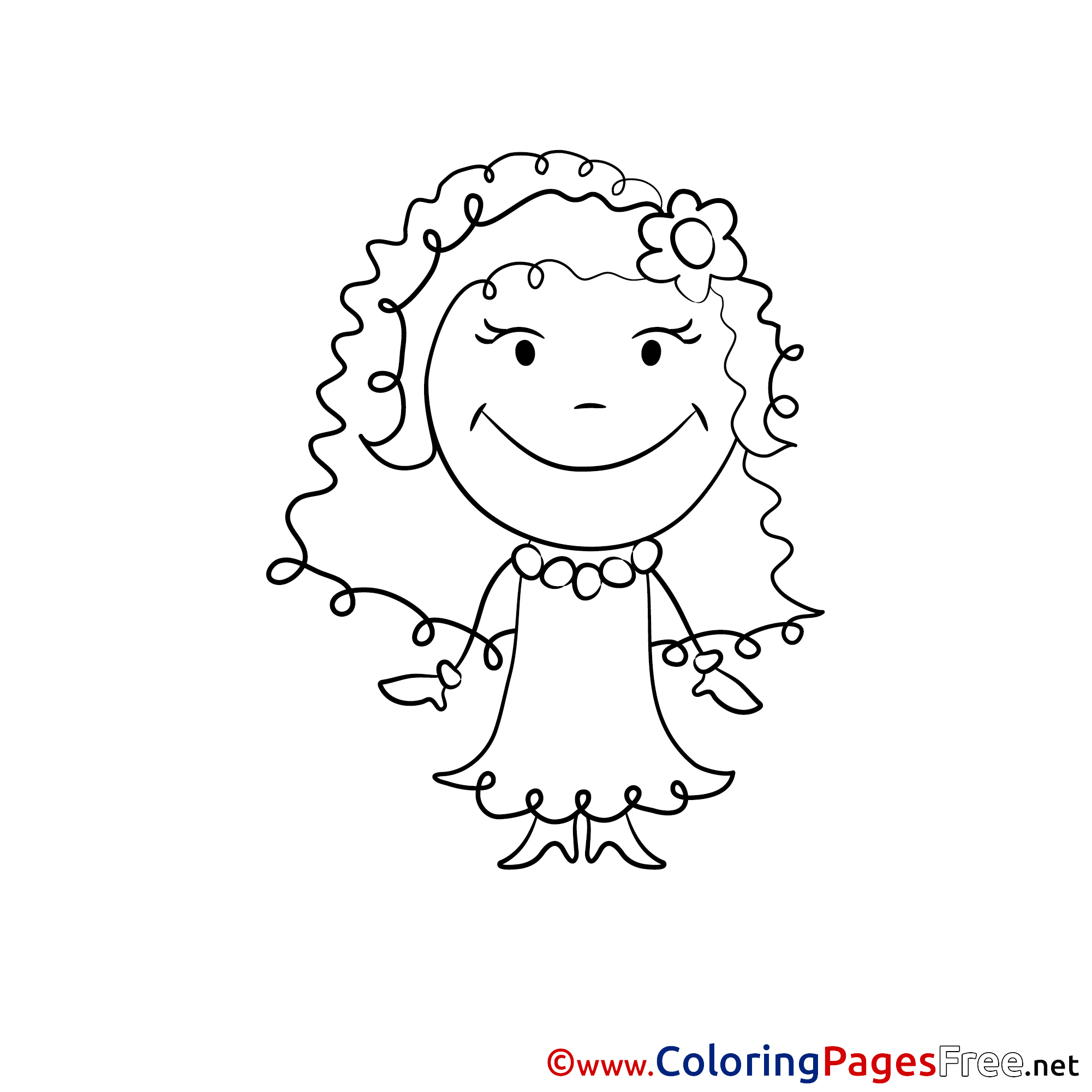 Letter C is for Cake coloring page  Free Printable