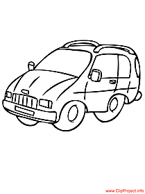 Coloring sheet car for free