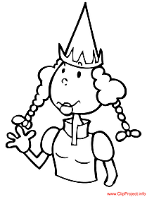 Princess coloring sheet free