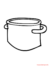 Pan coloring sheet