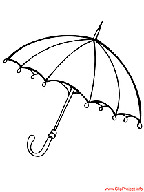 Umbrella image to color