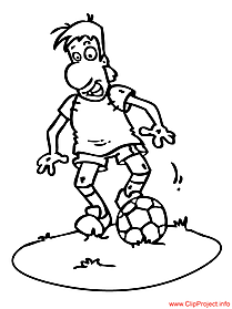 Football coloring page