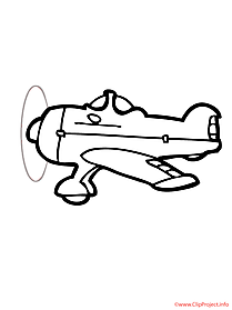 Plane coloring sheet