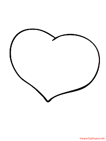 Heart coloring sheet