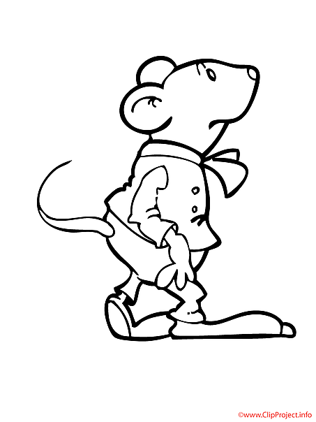 Mouse free coloring sheet