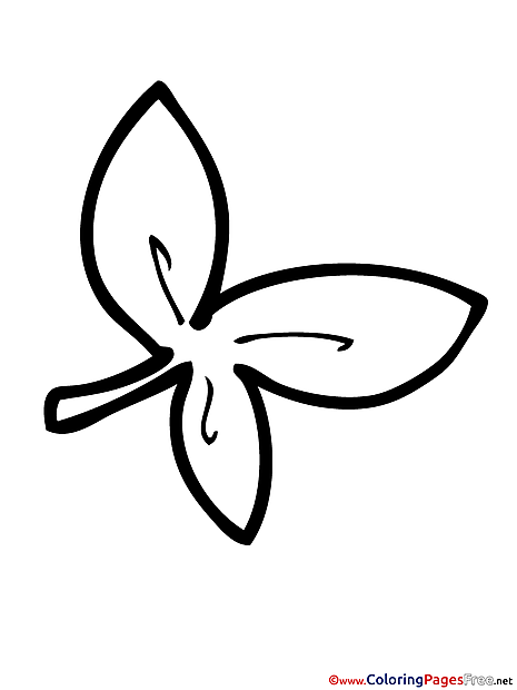 Clover Coloring Pages for free