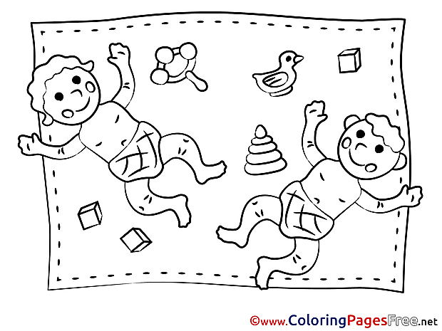 Bird Toys Coloring Pages for free