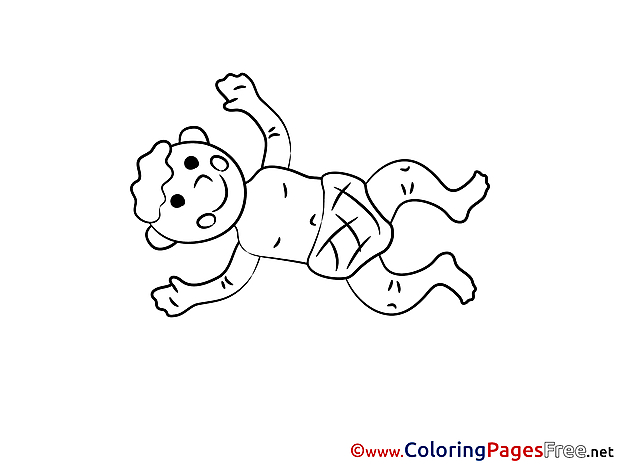 Napkins for Children free Coloring Pages