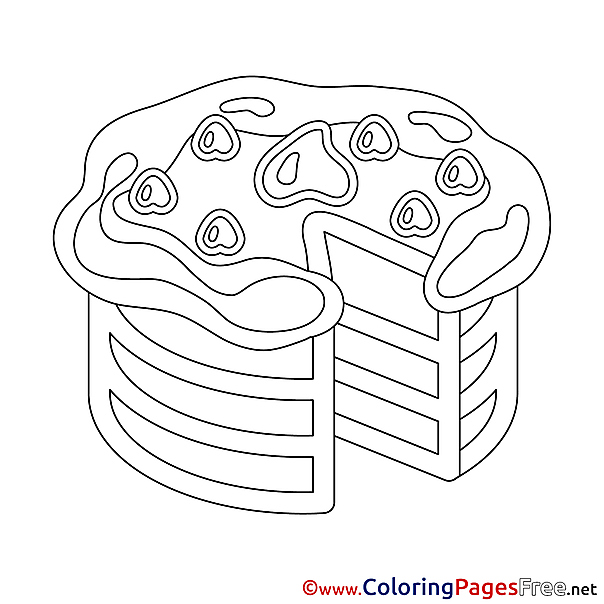 Celebration Happy Birthday free Coloring Pages