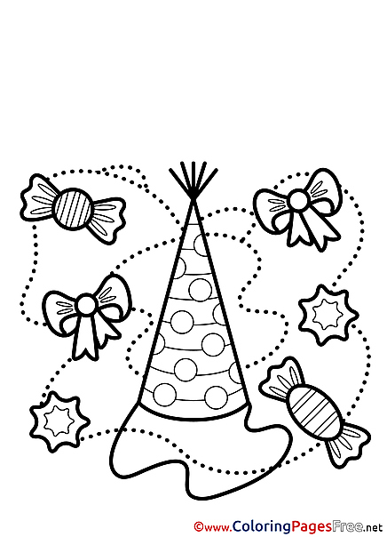 Congratulation Colouring Sheet download Happy Birthday
