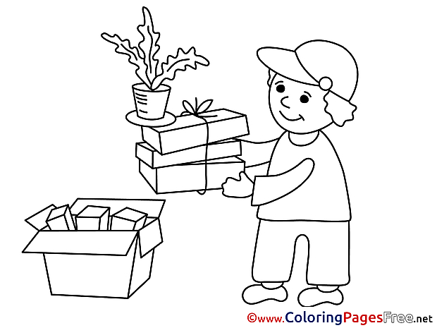 Porter Coloring Sheets Business free
