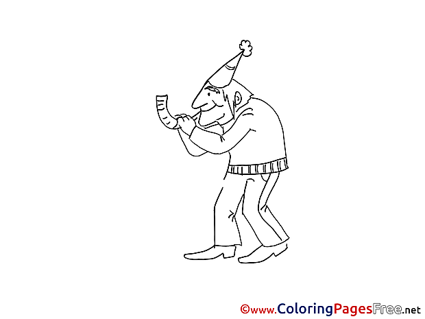 Music Kids free Coloring Page