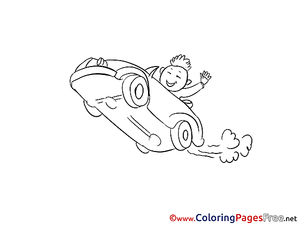 Race Coloring Sheets download free