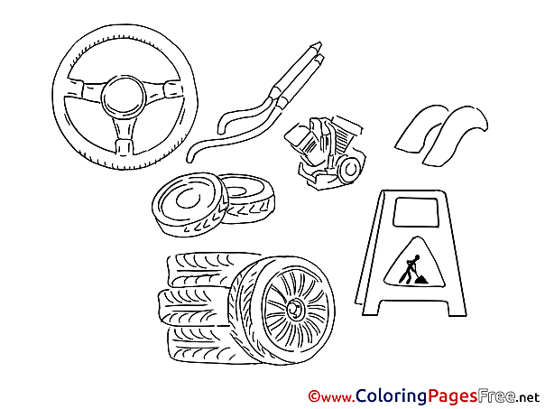 Repair printable Coloring Sheets download