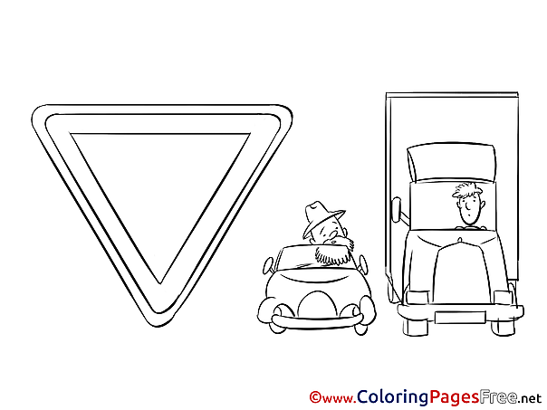 Sign for free Coloring Pages download