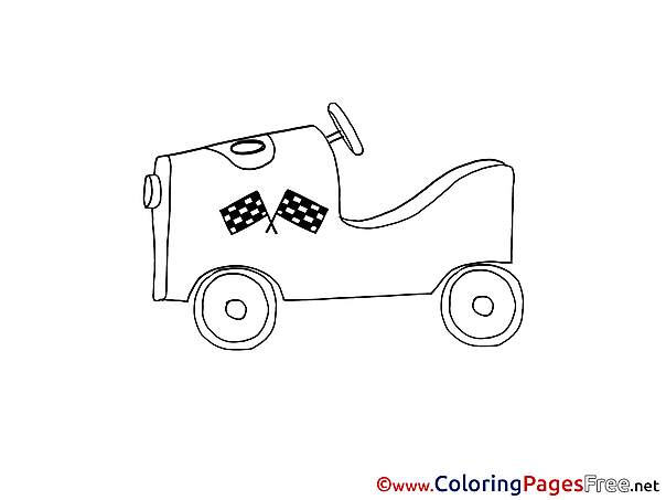 Sport Car printable Coloring Sheets download