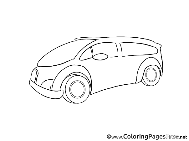 Vehicle for free Coloring Pages download