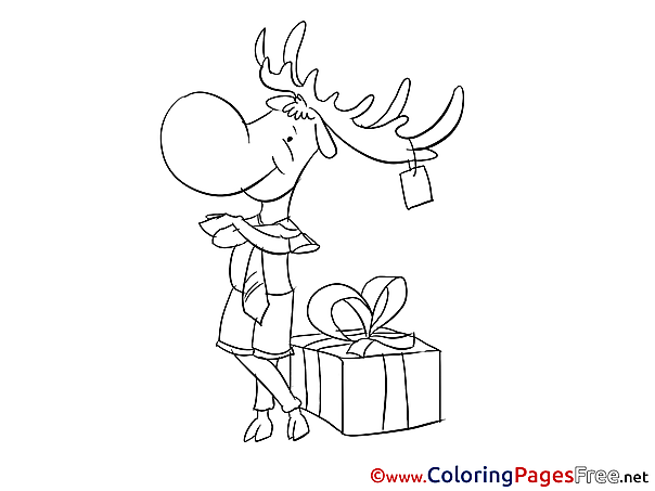 Deer Coloring Pages for free