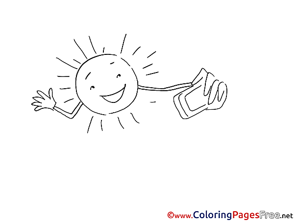 Selfie download printable Coloring Pages