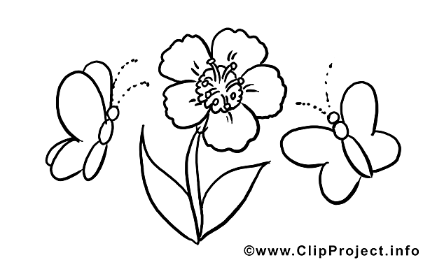 Flowers Children download Colouring Page