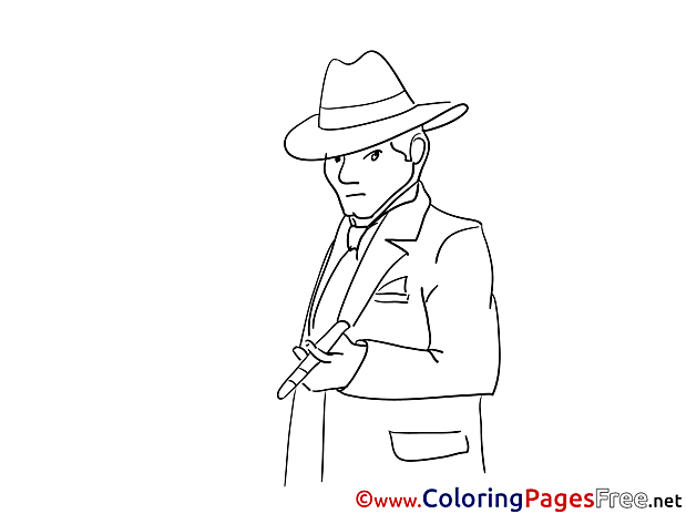 Cigar Coloring Pages for free
