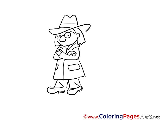 Hat printable Coloring Pages for free