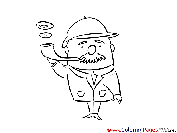 Pipe for Children free Coloring Pages