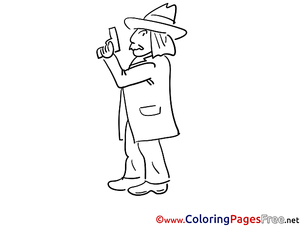 Pistol free printable Coloring Sheets