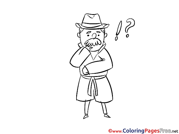 Question download Colouring Page