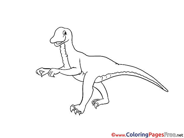 Abelisaurus for free Coloring Pages download