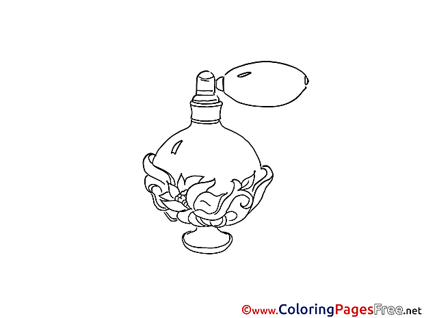 Perfume printable Coloring Sheets download