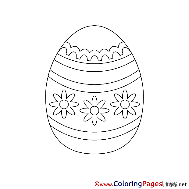 Sunday Colouring Page Easter free