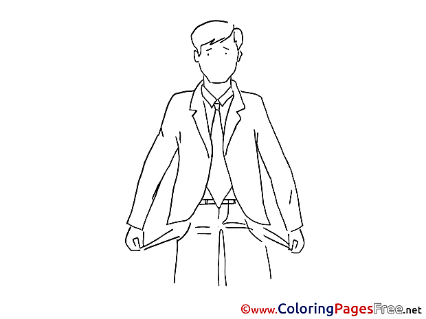 Bankruptcy for free Coloring Pages download