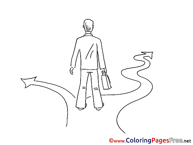 Crossroads Life Children download Colouring Page