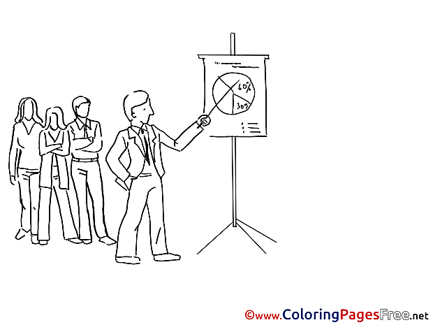 Diagram Colleagues free Colouring Page download