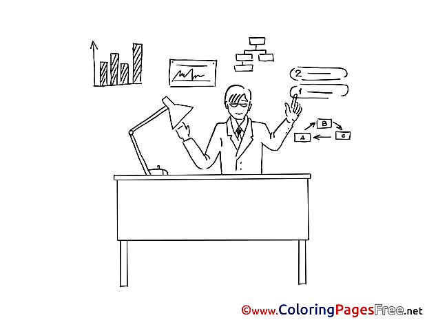 Finances Coloring Sheets download free