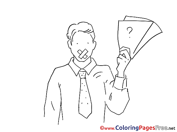 Job for Children free Coloring Pages