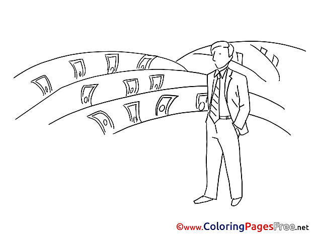 Manager Children Coloring Pages free