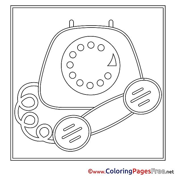 Phone printable Coloring Sheets download