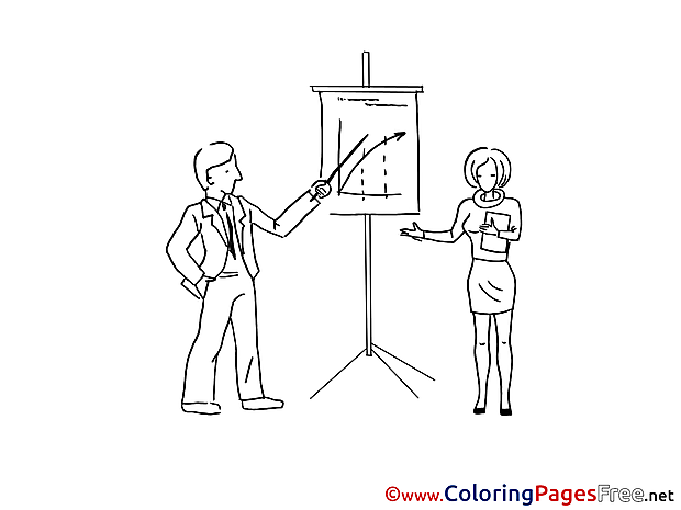 Presentation Plan free printable Coloring Sheets